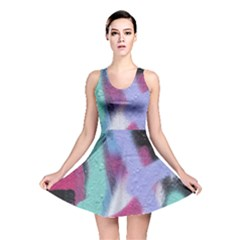Texture Pattern Abstract Background Reversible Skater Dress