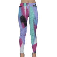 Texture Pattern Abstract Background Classic Yoga Leggings