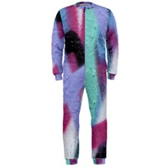 Texture Pattern Abstract Background OnePiece Jumpsuit (Men)