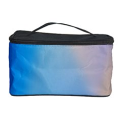 Twist Blue Pink Mauve Background Cosmetic Storage Case