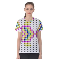 Colored Fish Women s Cotton Tee