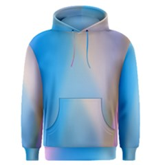 Twist Blue Pink Mauve Background Men s Pullover Hoodie