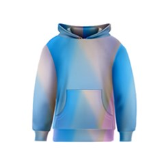 Twist Blue Pink Mauve Background Kids  Pullover Hoodie