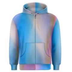 Twist Blue Pink Mauve Background Men s Zipper Hoodie