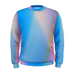Twist Blue Pink Mauve Background Men s Sweatshirt