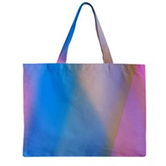 Twist Blue Pink Mauve Background Zipper Mini Tote Bag