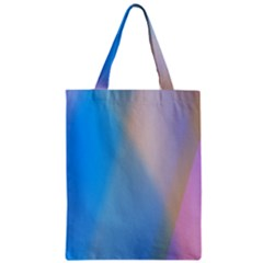 Twist Blue Pink Mauve Background Zipper Classic Tote Bag