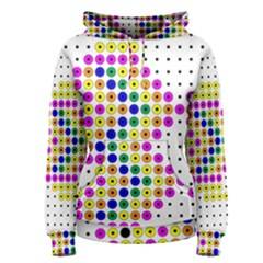 Colored Fish Women s Pullover Hoodie