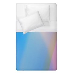 Twist Blue Pink Mauve Background Duvet Cover (Single Size)