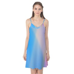 Twist Blue Pink Mauve Background Camis Nightgown