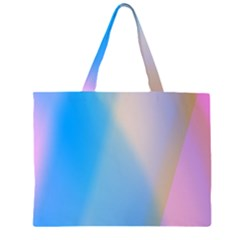 Twist Blue Pink Mauve Background Large Tote Bag