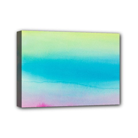 Watercolour Gradient Mini Canvas 7  x 5