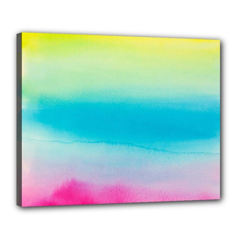 Watercolour Gradient Canvas 20  x 16