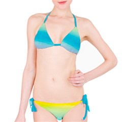 Watercolour Gradient Bikini Set