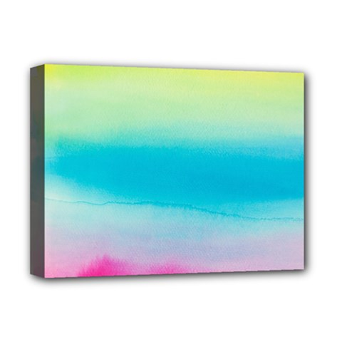 Watercolour Gradient Deluxe Canvas 16  x 12