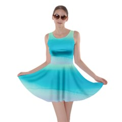 Watercolour Gradient Skater Dress