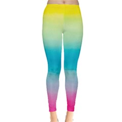 Watercolour Gradient Leggings