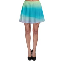 Watercolour Gradient Skater Skirt
