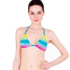 Watercolour Gradient Bikini Top