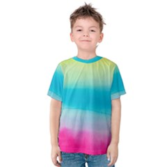 Watercolour Gradient Kids  Cotton Tee
