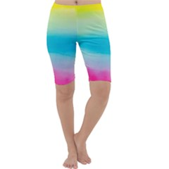 Watercolour Gradient Cropped Leggings