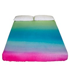 Watercolour Gradient Fitted Sheet (King Size)