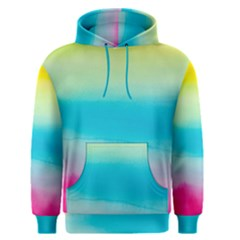 Watercolour Gradient Men s Pullover Hoodie