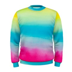 Watercolour Gradient Men s Sweatshirt