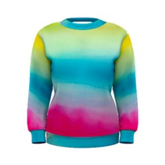 Watercolour Gradient Women s Sweatshirt