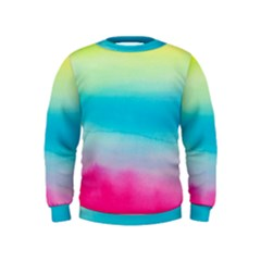 Watercolour Gradient Kids  Sweatshirt