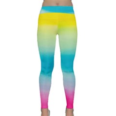 Watercolour Gradient Classic Yoga Leggings
