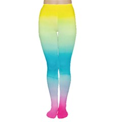 Watercolour Gradient Women s Tights