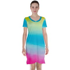 Watercolour Gradient Short Sleeve Nightdress