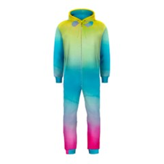 Watercolour Gradient Hooded Jumpsuit (Kids)