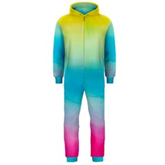 Watercolour Gradient Hooded Jumpsuit (Men)