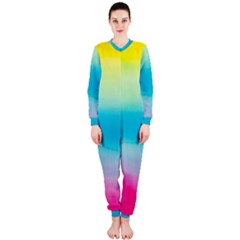 Watercolour Gradient OnePiece Jumpsuit (Ladies)