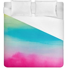 Watercolour Gradient Duvet Cover (King Size)