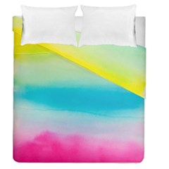 Watercolour Gradient Duvet Cover Double Side (Queen Size)