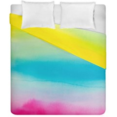 Watercolour Gradient Duvet Cover Double Side (California King Size)