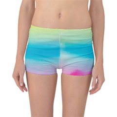 Watercolour Gradient Reversible Bikini Bottoms