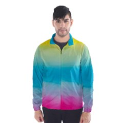 Watercolour Gradient Wind Breaker (Men)