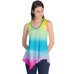 Watercolour Gradient Sleeveless Tunic