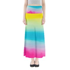 Watercolour Gradient Maxi Skirts
