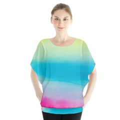 Watercolour Gradient Blouse