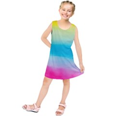 Watercolour Gradient Kids  Tunic Dress