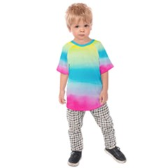 Watercolour Gradient Kids  Raglan Tee