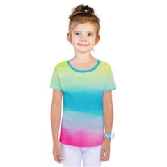 Watercolour Gradient Kids  One Piece Tee