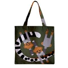 Chetah Animals Zipper Grocery Tote Bag