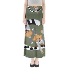 Chetah Animals Maxi Skirts