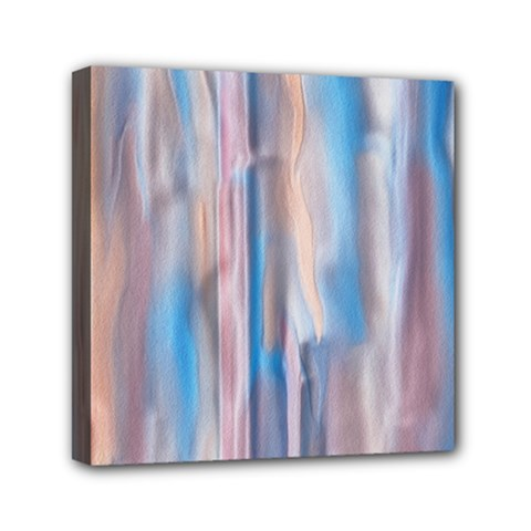Vertical Abstract Contemporary Mini Canvas 6  x 6